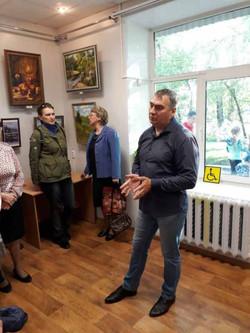 Вяземский. Открытие выставки  (12)