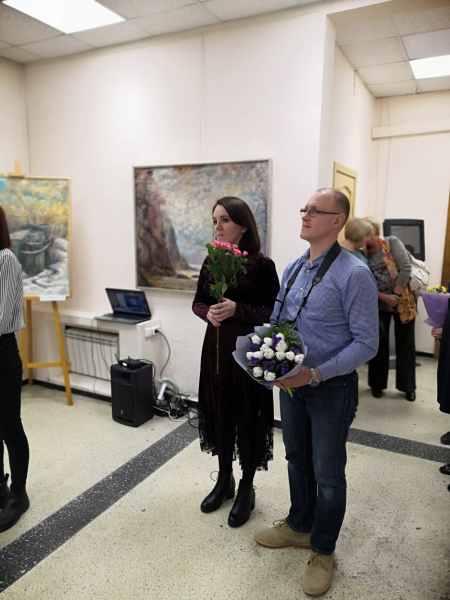 Открытие персоональной выставки Путевые