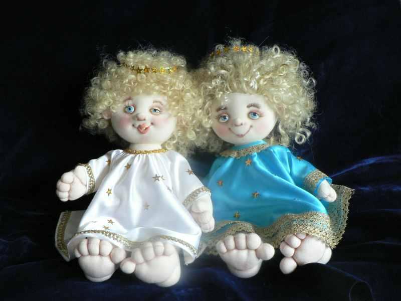 Текстильные Ангелочки.