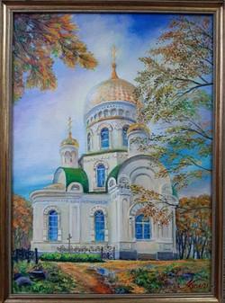 Преображенский храм. Шмаковка