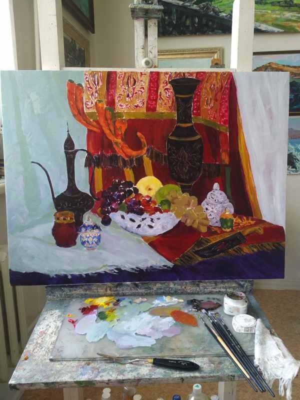 Подготовка к выставке (1)