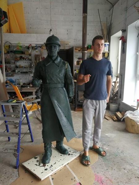 Скульптура и нвтурщик