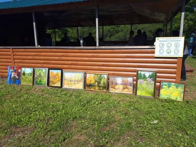 Выставка на природе