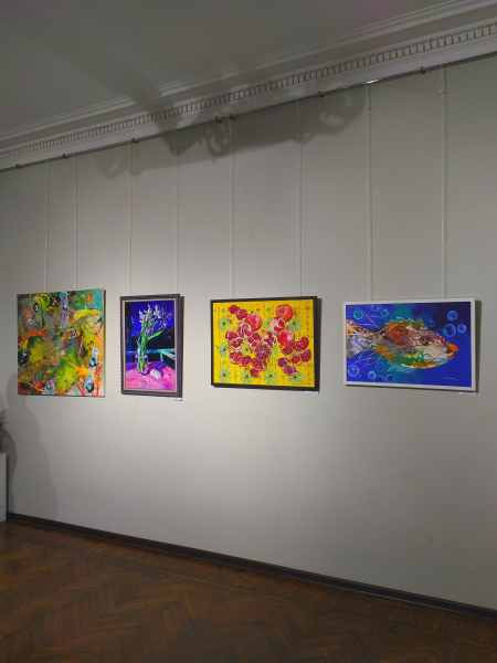Работы с выставки