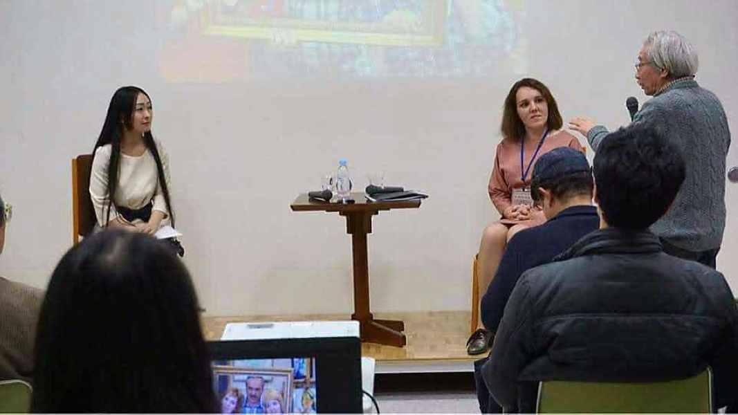 презентация доклада о сахалинских художн