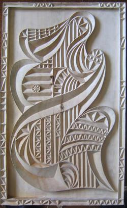 Мадонна. дерево, 2006г