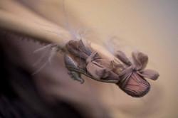 кукла ОЛана Полимерная глина, шёлк, шерсть 2018 г (10)