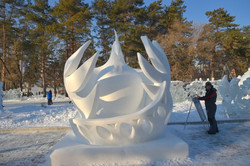 Конкурс снежных скульптур (6)