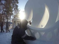 Конкурс снежных скульптур (3)
