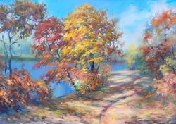 Тёплые краски октября