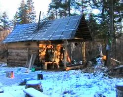 Зимовье после реставрации