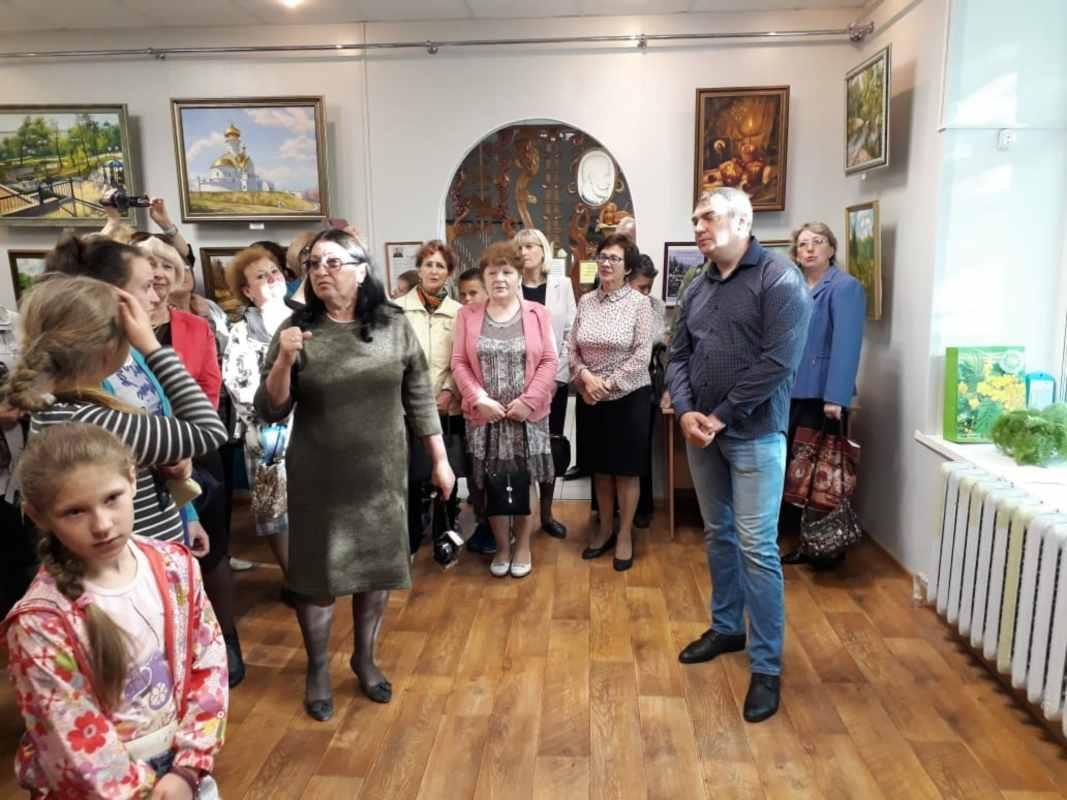 Вяземский. Открытие выставки  (25)