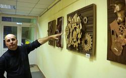 """Выставка """"Стимпания"""" в библиотеке"""