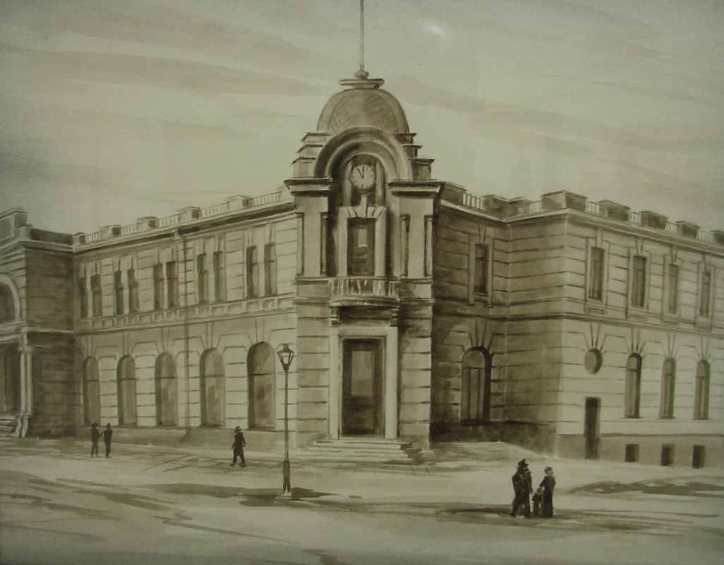 Торговый Дом Кунст и Альберс (0.40Х0.30) акварель