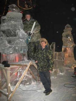 Ледовые скульптуры разных лет (5)