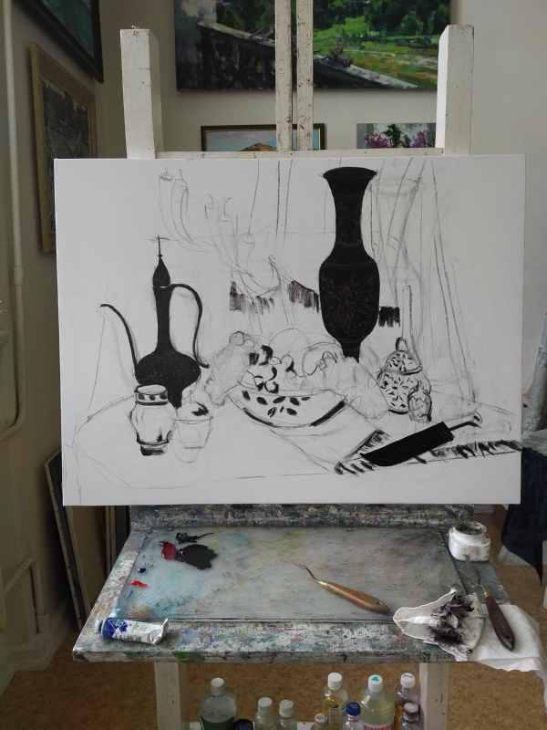 Подготовка к выставке (5)