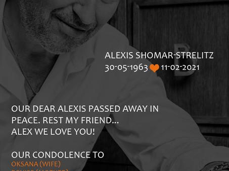 RIP Alexis  30.05.1963 / 11.02.2021