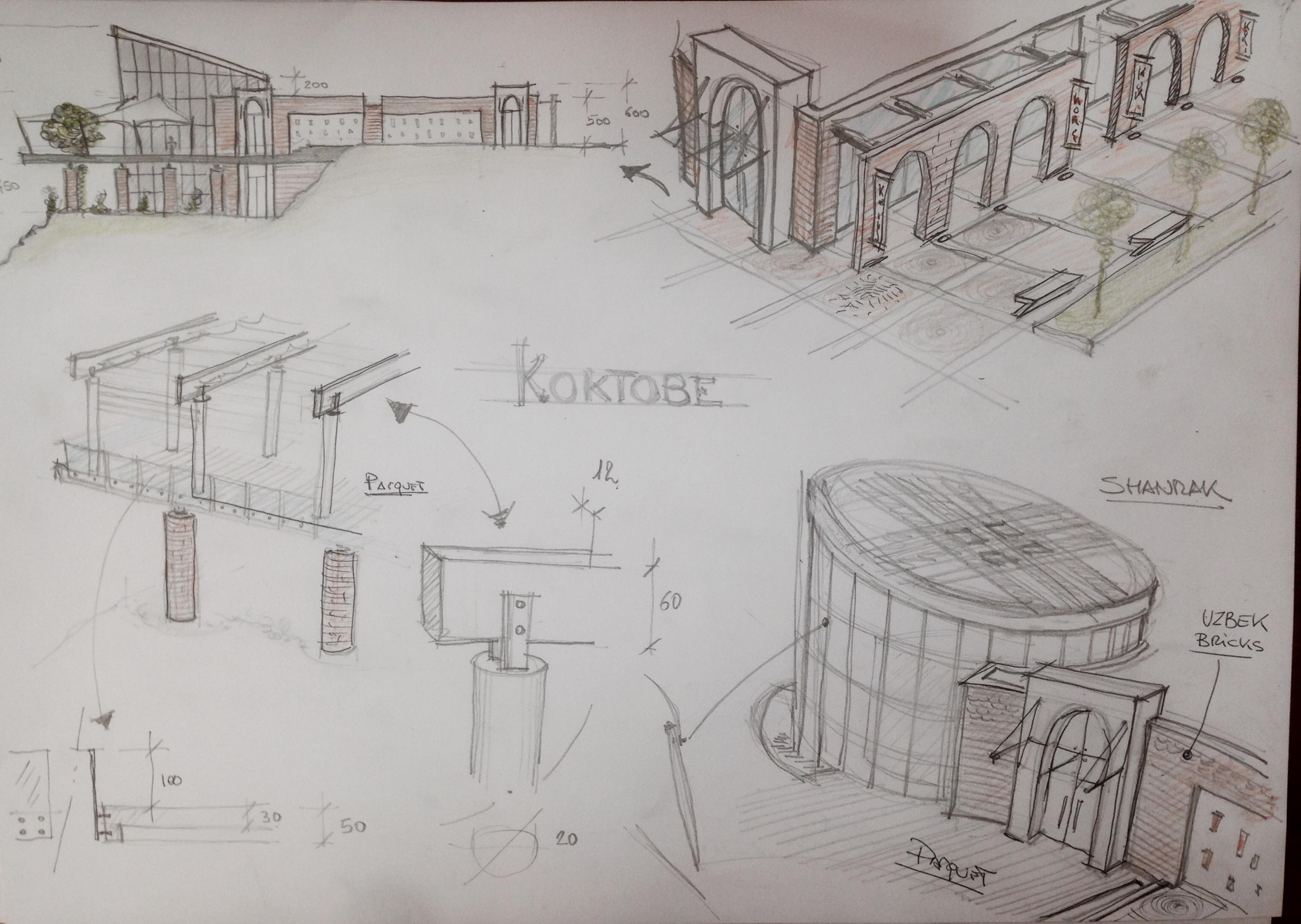 sketch koktobe