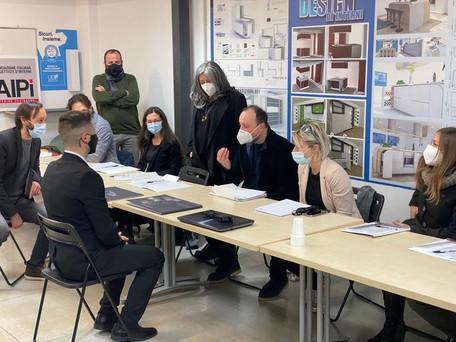 Commissione esami UED Interior Design - Pescara 2021 :