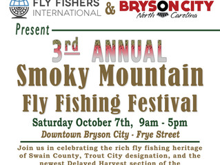3rd Annual Smoky Mountain Fly Fishing Festival