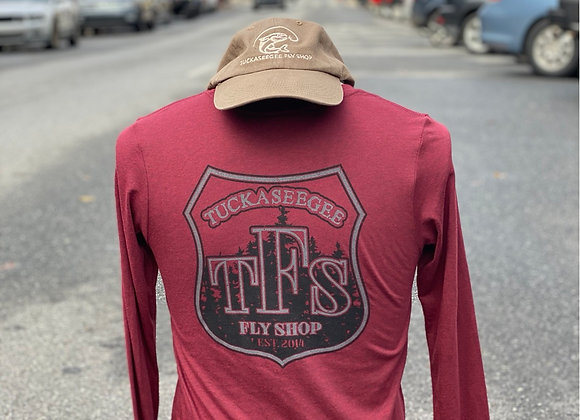 Tuck Fly Shop Badge Logo Longsleeved T