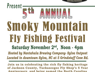 5th Annual Smoky Mountain Fly Fishing Festival