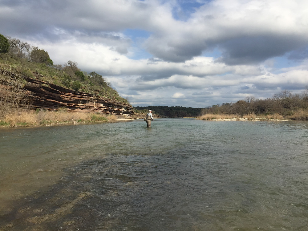 Bobby wearing them out on the Llano!