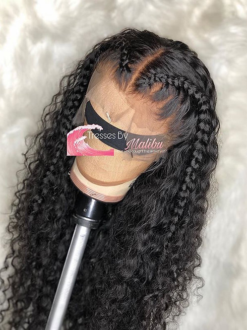 1B Frontal Wig 180% Density