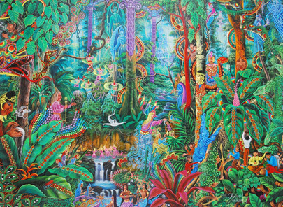 SHAMANIC INITIATION: THE POWER OF THE SACRED PLANT OF THE AMAZON (19-20 May 2018)