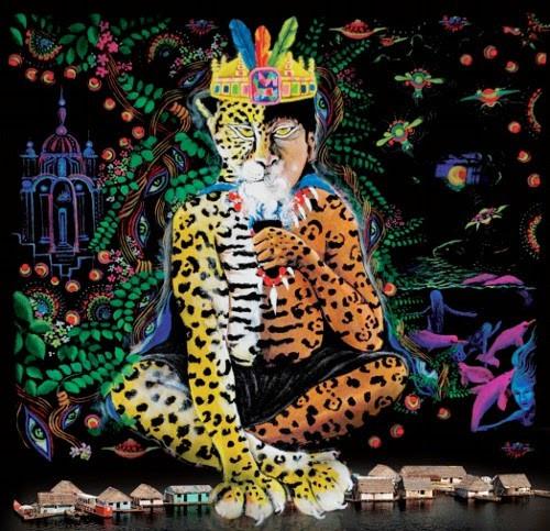 The Jaguar Man - Artist unknown
