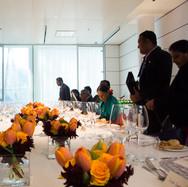 Cena dell'ambasciata srilankese in Italia, Expo 2015