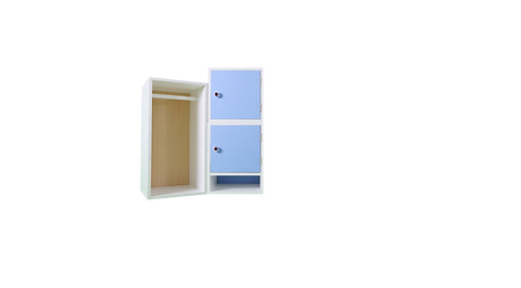 Bayee Wardrobe with Cabinet