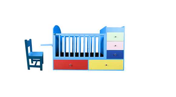 Bayee Cot with Drawer & Chair