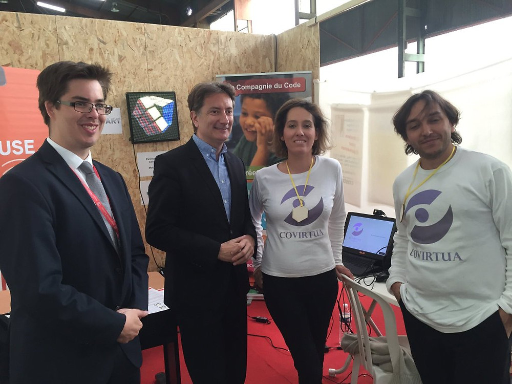 Rencontre avec Bertrand SERP, Vice-Président de Toulouse Métropole - Économie numérique et Robotique.