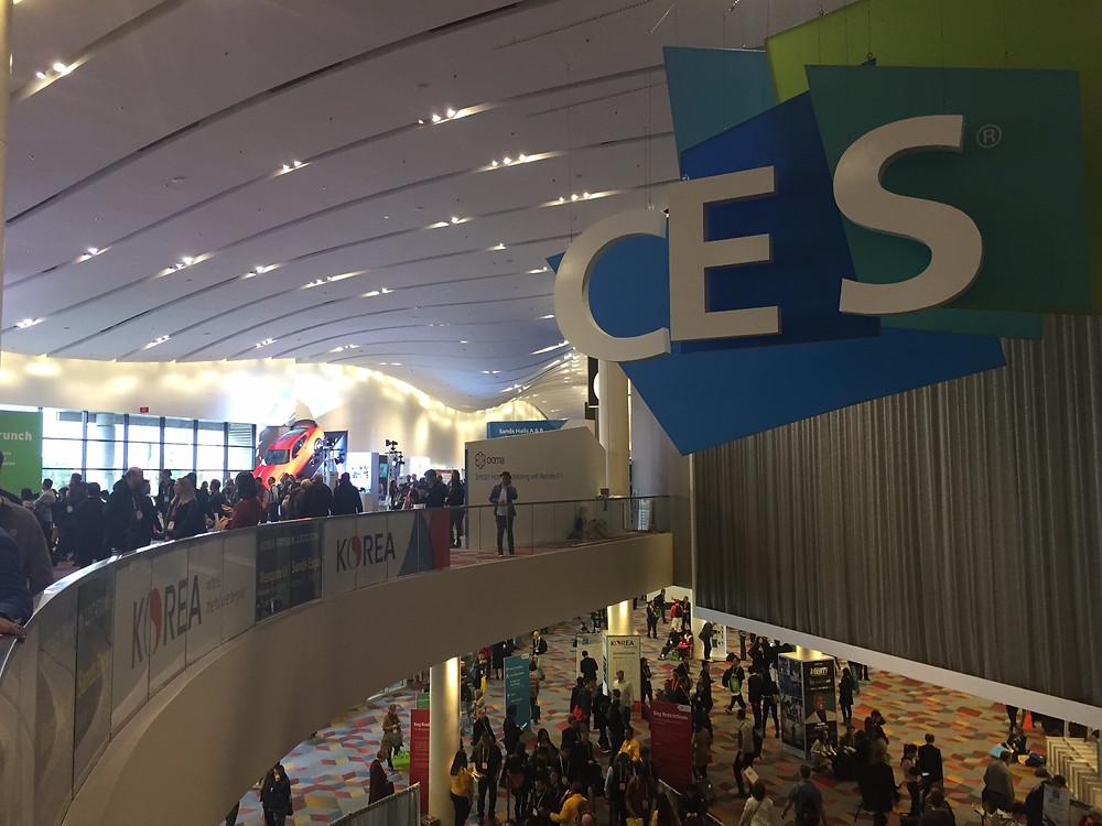 CES Las Vegas- Hall Sands expo