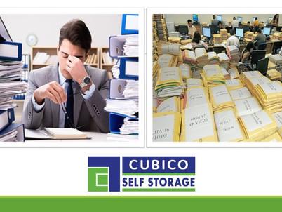 Alívio do estresse utilizando um Self Storage