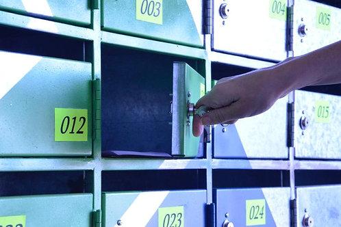 Caixa Postal Empresarial com End. Fiscal