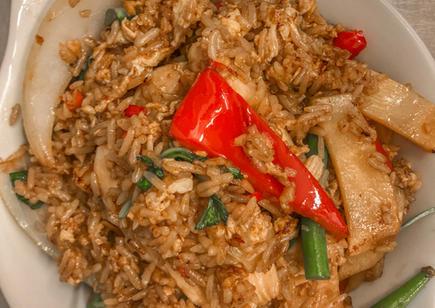 Drunken Fried Rice Chicken