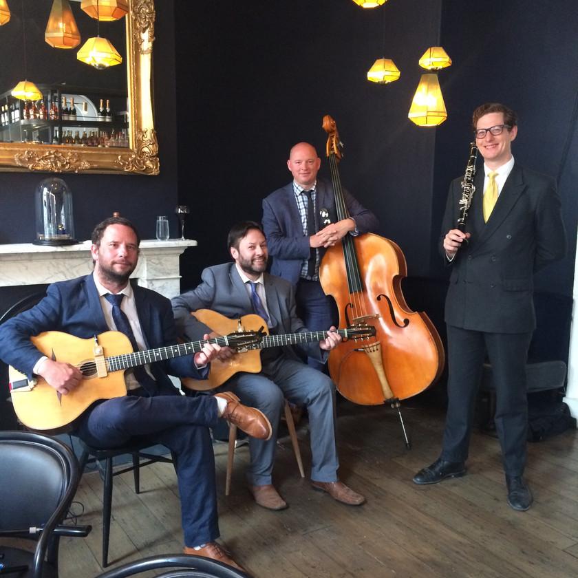 Gypsy Jazz Quartet With Clarinet