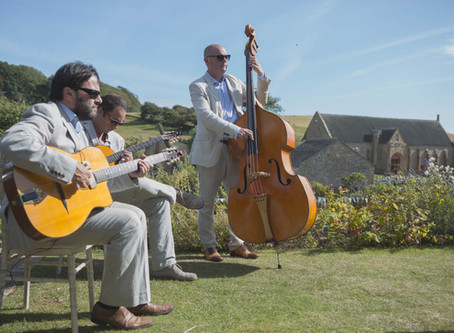2021 Wedding Band Hire | Book The Jonny Hepbir Gypsy Jazz Trio