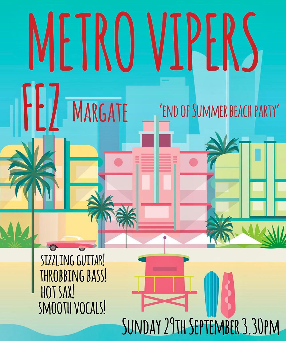 Metro Vipers At Fez Micro Pub Margate Kent