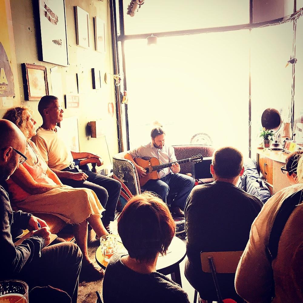 Jonny Hepbir Solo Parisian Swing Guitar At Fez Micro Pub Margate Kent
