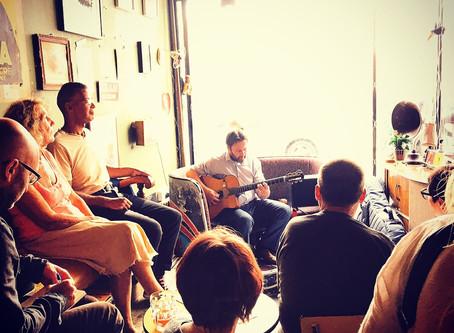 Jonny Hepbir Solo Parisian Swing Guitar Live At Fez Micro Pub Margate In Kent