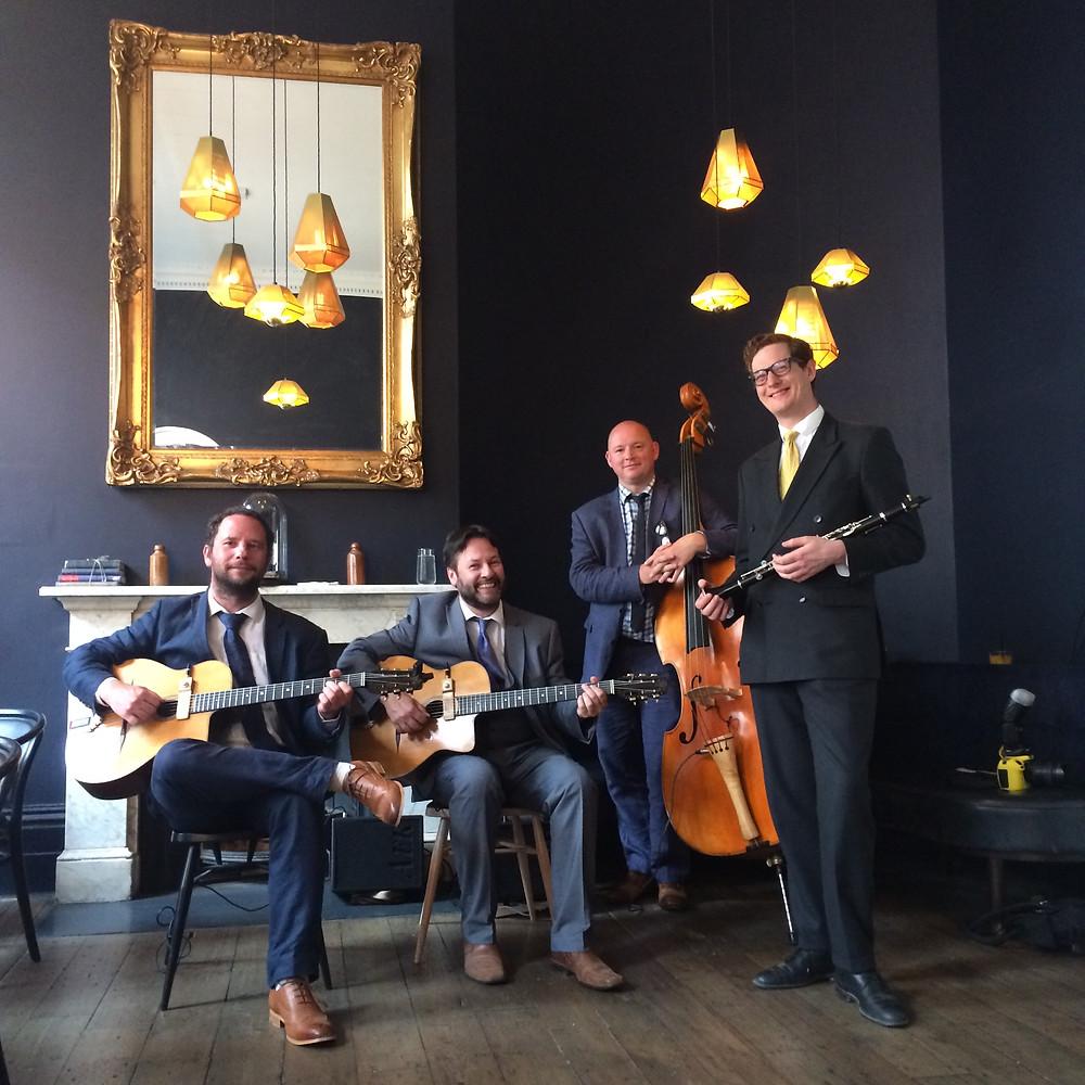Jonny Hepbir Quartet At Somerset House London