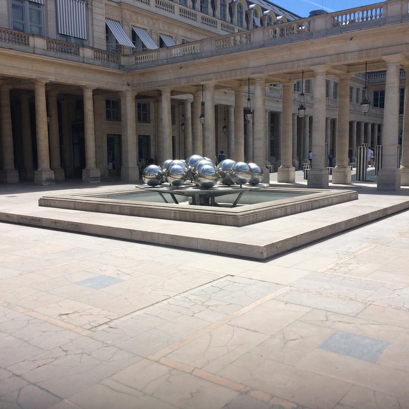 Jonny Hepbir Instrumental Gypsy Jazz Quartet At Jardin Du Palais-Royal In Paris France