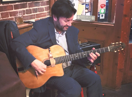 Jonny Hepbir Solo Gypsy Jazz Guitarist & Gypsy Jazz Guitar Lessons In Kent