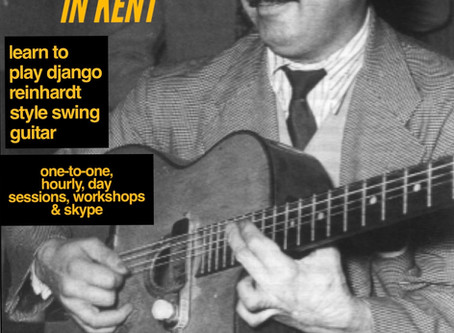 Kent Gypsy Jazz Guitar Lessons | Jonny Hepbir Teaches Django Reinhardt Style Guitar In Margate