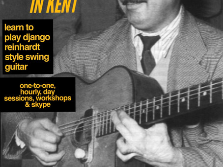 Kent Gypsy Jazz Guitar Lessons | Jonny Hepbir Teaches Django Reinhardt Style Guitar In Margate