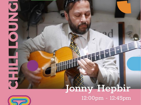 Jonny Hepbir Solo Gypsy Jazz Guitar At Elwick Place Ashford Kent 21st August 12pm   Book Live Jazz