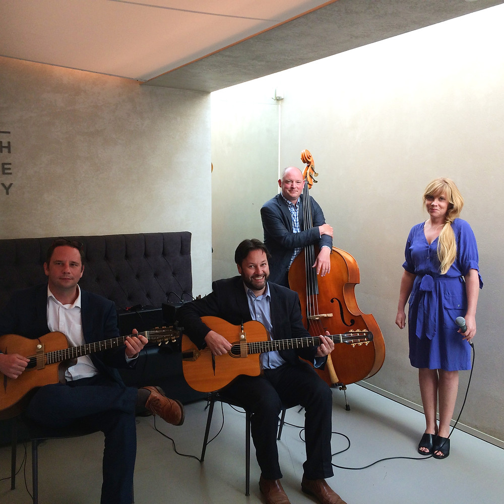 Jonny Hepbir Jazz Quartet Performing For A Wedding At Dulwich Picture Gallery In London